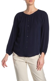 Velvet by Graham & Spencer Button Front Blouse