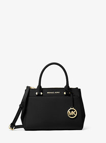 Michael Kors Gibson Small Saffiano Leather Satchel