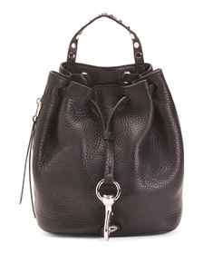 Reveal Designer Leather Backpack Drawstring And Sn