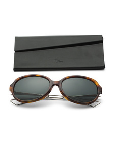 DIOR Made In Italy 58mm Oval Designer Sunglasses