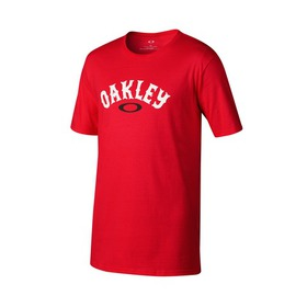 Oakley 50 Surf Arc Tee - RED LINE