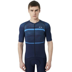 Oakley Jawbreaker Road Jersey - Atomic Blue