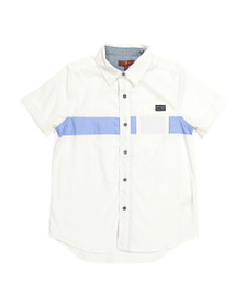 7 FOR ALL MANKIND Big Boys Button Up Short Sleeve