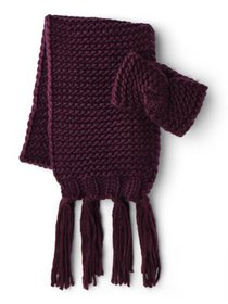 Time and Tru Chunky Knit Scarf & Headband Gift Set