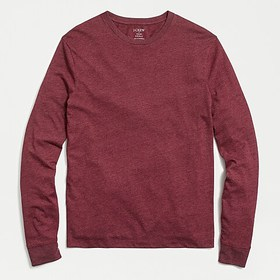 J. Crew Factory Long-sleeve washed jersey tee