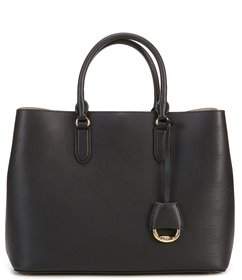 Lauren Ralph Lauren Large Leather Marcy Satchel Ba
