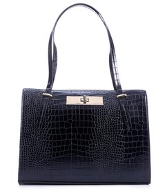 Antonio Melani Ada Crocodile-Embossed Large Tote B
