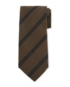 TOM FORD Striped Silk Tie