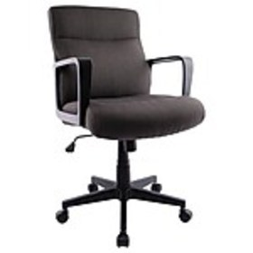 Staples Brookmere Fabric Manager Chair, Gray (5694