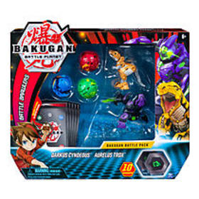 Bakugan, Battle Pack 5-Pack, Darkus Cyndeous and A