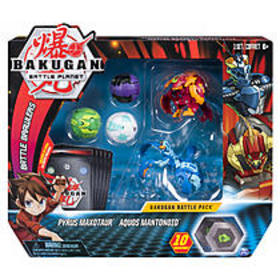 Bakugan, Battle Pack 5-Pack, Pyrus Maxotaur and Aq