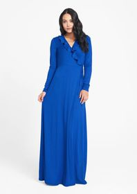 Tall Ruffle Maxi Dress
