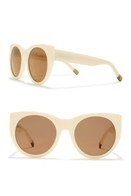 RAEN Durante 53mm Round Sunglasses