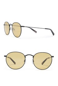 RAEN Benson 48mm Round Sunglasses