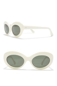 RAEN Ashtray 51mm Oval Sunglasses