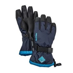 Hestra® Gauntlet CZone Jr. Gloves – 5 Finger, Navy