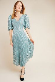 Anthropologie Rebecca Taylor Genevieve Maxi Dress