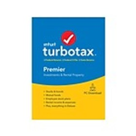 Intuit TurboTax Premier Fed, E-File, and State 201