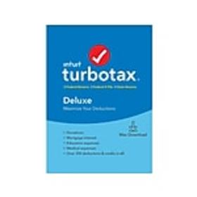 Intuit TurboTax Deluxe Fed, E-File, and State 2019