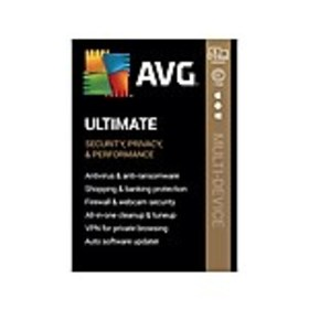 AVG Ultimate 2020 for 5 Devices, Windows/Mac/Andro
