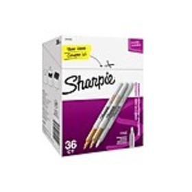 Sharpie Permanent Markers, Fine Point, Assorted Me