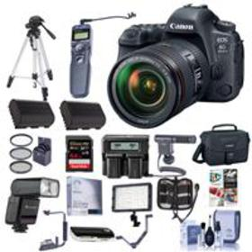Canon EOS 6D Mark II DSLR with EF 24-105mm f/4L IS