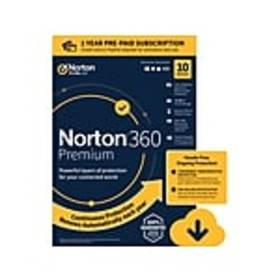Norton 360 Premium for 10 Devices, Windows/Mac/And