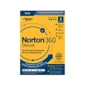 Norton 360 Deluxe 1 Year Subscription for 5 Device