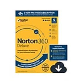 Norton 360 Deluxe for 5 Devices, Windows/Mac/Andro