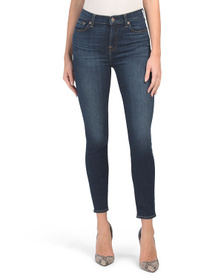 7 FOR ALL MANKIND High Waist Gwenevere Skinny Jean