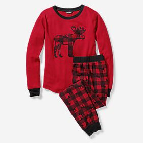 Kids' Cozy Thermal Sleep Set