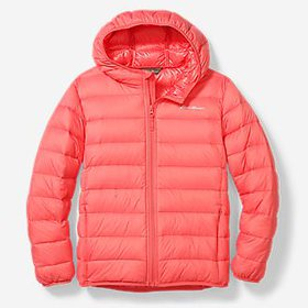 Kids' Cirruslite Down Hooded Jacket