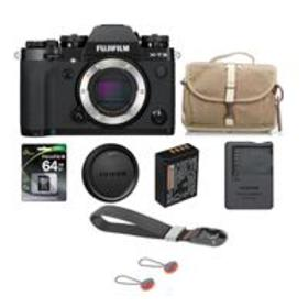 Fujifilm X-T3 Mirrorless Body, Black With Accessor