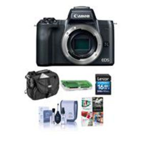 Canon EOS M50 Mirrorless Digital Camera Body Black