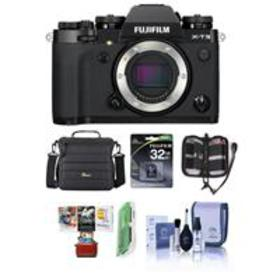 Fujifilm X-T3 Mirrorless Body, Black - With Free M