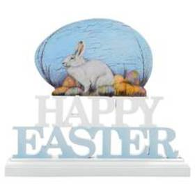 K&K Interiors Happy Easter with Egg Table Top