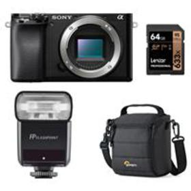 Sony Alpha a6100 Mirrorless Digital Camera Body Wi