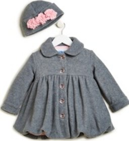 Stride Rite Angel Wings Coat with Hat