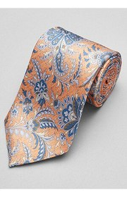 Jos Bank Reserve Collection Floral Scroll Tie