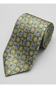 Jos Bank Reserve Collection Floral Medallion Tie