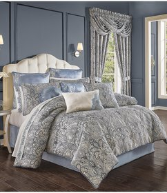 J. Queen New York Alexis Damask Comforter Set