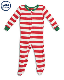Holiday #FamJams Infant Cotton Stripe Family Sleep