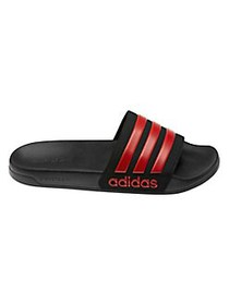 Adidas Adilette Cloudfoam Slides RED BLACK