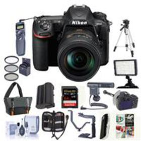 Nikon D500 DSLR Body with 16-80mm ED VR Lens and P