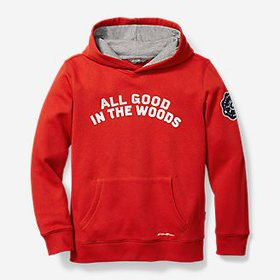 Boys' Camp Fleece Pullover Hoodie