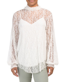 SEE BY CHLOE Made In Portugal Lace Top