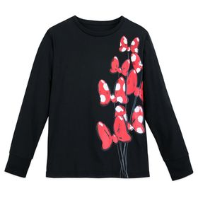 Disney Minnie Mouse Bow Long Sleeve T-Shirt for Wo
