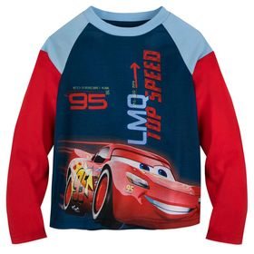 Disney Lightning McQueen Long Sleeve T-Shirt for B