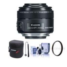 Canon EF-S 35mm f/2.8 Macro IS STM Lens - With Fre