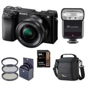 Sony Alpha a6100 Mirrorless Camera with 16-50mm Le